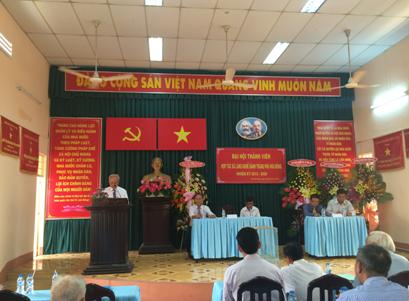 Đại hội thành viên HTX bánh tráng Phú Hòa Đông