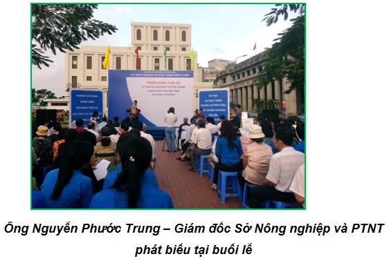 Thành phố Hồ Chí Minh thả cá giống nhằm tái tạo và phát triển nguồn lợi thủy sản trên kênh Tàu Hũ – Bến Nghé
