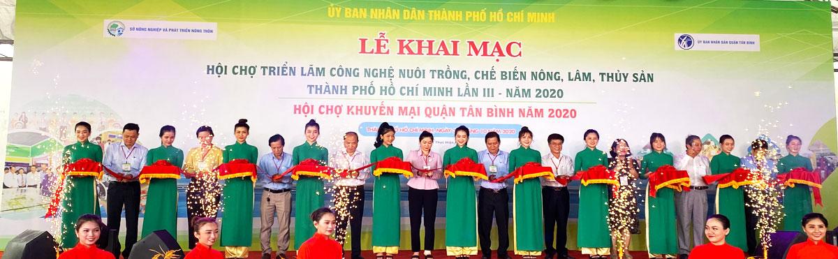 Hội chợ - Triển lãm công nghệ nuôi trồng, chế biến nông, lâm, thủy sản Thành phố Hồ Chí Minh năm 2020