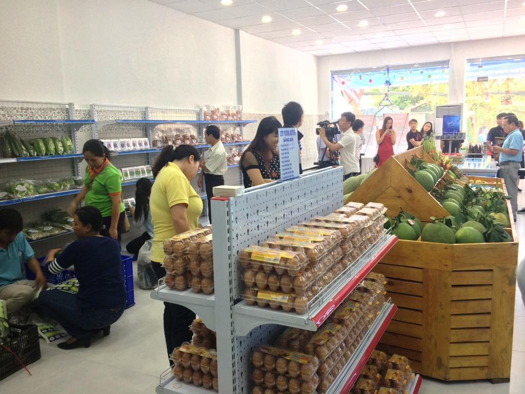 Tổng quan Cửa hàng nông sản sạch VietGAP 01