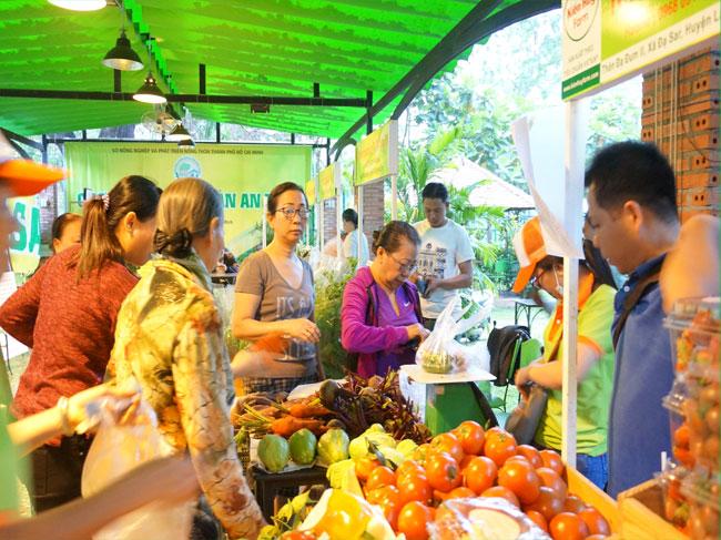 Các sản phẩm rau, củ, quả ngày càng đa dạng hơn với nhiều chủng loại