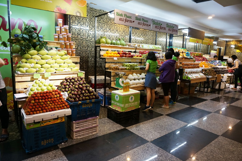 Hội chợ trái cây Sài Gòn – địa điểm mua sắm mới của người dân Thành phố