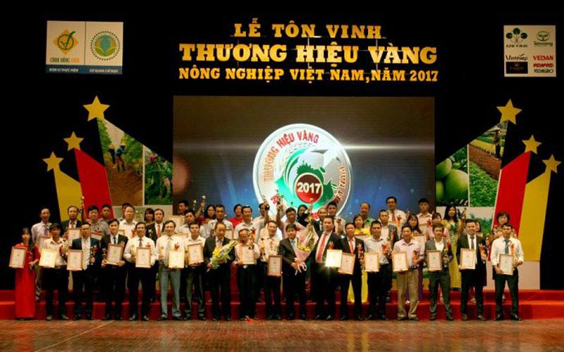 """Chương trình """"Thương hiệu Vàng nông nghiệp Việt Nam năm 2018"""""""