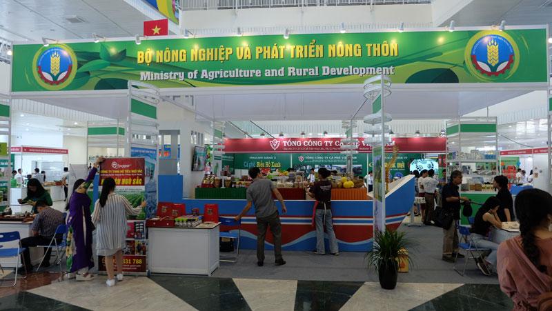 Gian hàng Bộ Nông nghiệp và PTNT