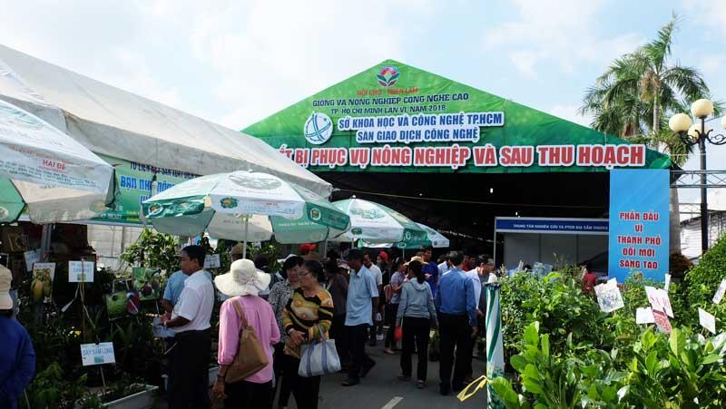 Hội chợ - Triển lãm Giống và Nông nghiệp công nghệ cao TP.HCM,  lần VII – năm 2019