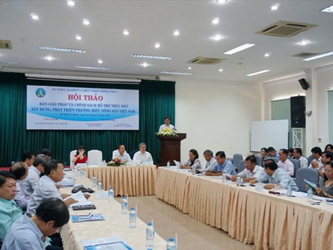 Xây dựng thương hiệu cho nông sản Việt Nam