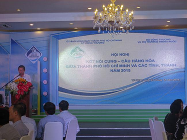 Hội nghị kết nối cung – cầu hàng hóa giữa thành phố Hồ Chí Minh và các tỉnh, thành năm 2015