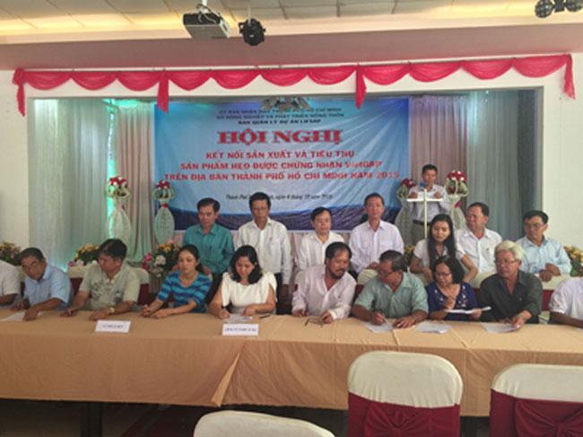 Hội nghị kết nối sản xuất và tiêu thụ sản phẩm heo được chứng nhận VietGAP trên địa bàn TpHCM