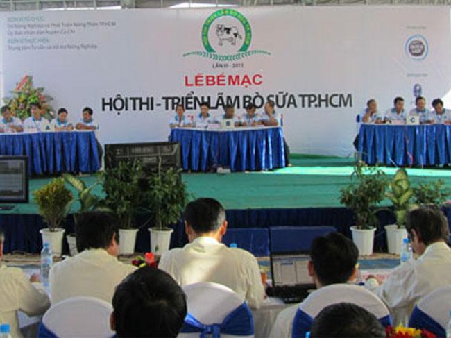 KẾT QUẢ HỘI THI – TRIỂN LÃM BÒ SỮA THÀNH PHỐ HỒ CHÍ MINH LẦN THỨ III, NĂM 2011