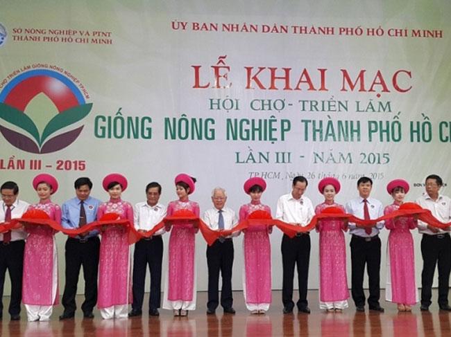 Hội chợ - Triển lãm Xúc tiến đầu tư Giống nông nghiệp Thành phố Hồ Chí Minh năm 2016