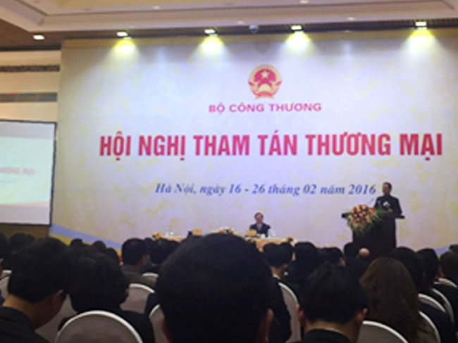 Hội nghị Tham tán Thương mại năm 2016