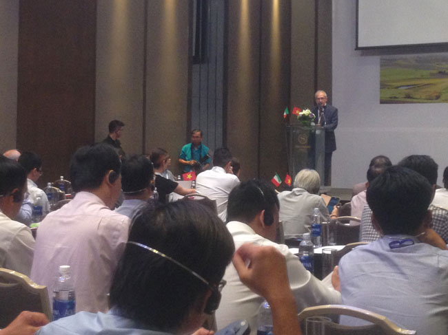 """Hội thảo """"Thiết bị và Công nghệ Italy cho ngành nông nghiệp Việt Nam"""""""