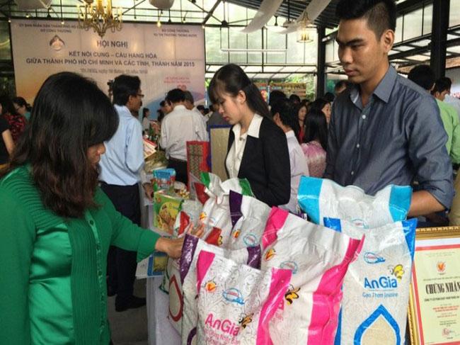 Hội chợ Kết nối cung – cầu giữa Thành phố Hồ Chí Minh và các tỉnh, thành năm 2017