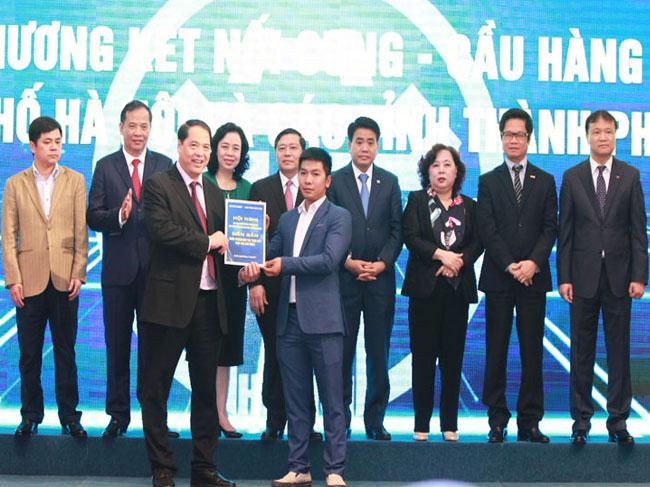 Hội nghị Giao thương, kết nối cung – cầu giữa thành phố Hà Nội và các tỉnh, thành phố năm 2017