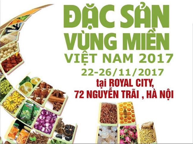 Hội chợ Đặc sản Vùng miền Việt Nam 2017 tại Hà Nội