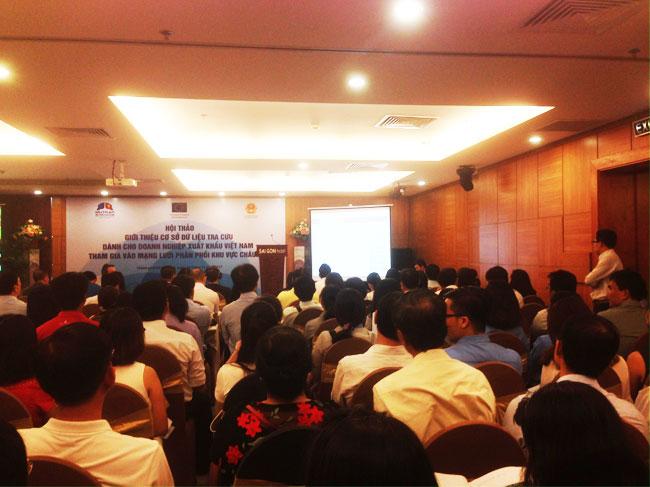 Giới thiệu cơ sở dữ liệu tra cứu dành cho doanh nghiệp xuất khẩu Việt Nam tham gia vào mạng lưới phân phối khu vực Châu Âu