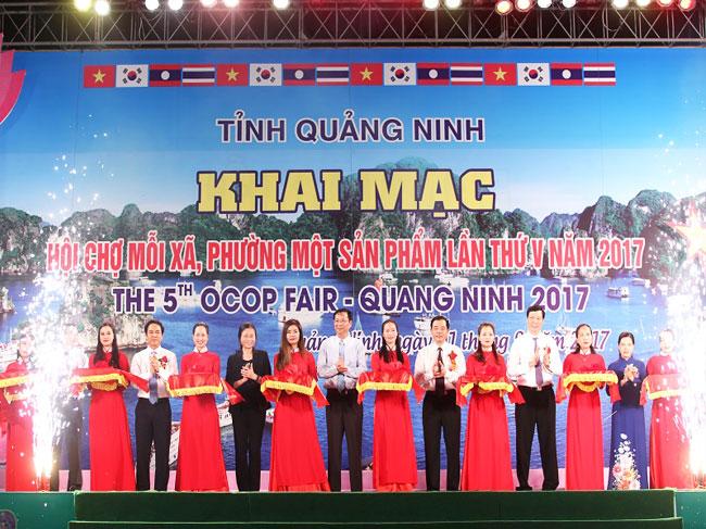 Hội chợ OCOP khu vực phía Bắc – Quảng Ninh 2018