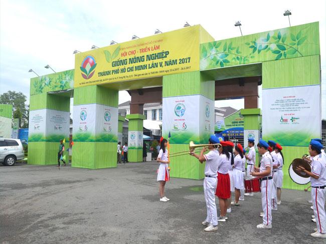 Hội chợ -Triển lãm Giống và Nông nghiệp Công nghệ cao Thành Phố Hồ Chí Minh năm 2018