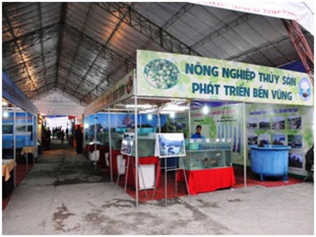Hội chợ sản phẩm nông lâm thủy sản vùng duyên hải Nam Trung Bộ năm 2018