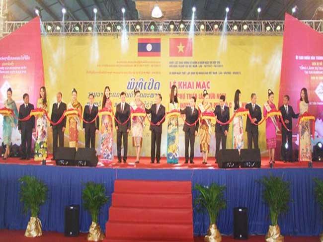 Hội chợ triển lãm hữu nghị Thương mại – Dịch vụ – Du lịch thành phố Hồ Chí Minh tại tỉnh Savannakhet (Lào) lần thứ 2, năm 2018.