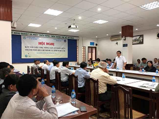 Hội nghị kết nối tiêu thụ sản phẩm nông nghiệp an toàn giữa tỉnh Đăk Lăk và Thành phố Hồ Chí Minh