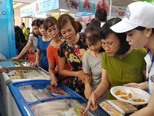 Hội chợ các sản phẩm thủy sản tại Hà Nội năm 2019