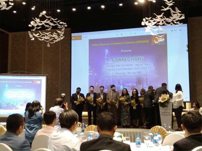 """Hội nghị """"Thương mại Việt Nam - Ấn Độ, Tầm nhìn kinh doanh và kinh tế 2019"""""""