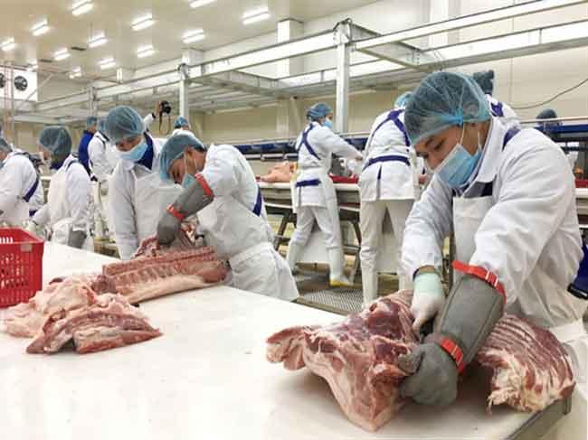 Thịt lợn nhập khẩu khó cạnh tranh ở Việt Nam