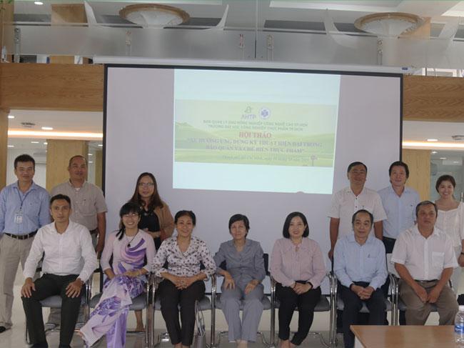 """Hội thảo """"Xu hướng ứng dụng kỹ thuật hiện đại trong bảo quản và chế biến thực phẩm"""""""
