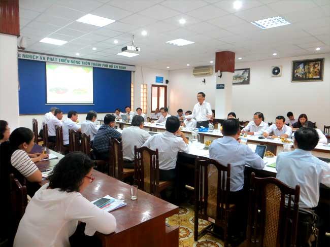 Gặp gỡ, trao đổi kết nối sản xuất và tiêu thụ nông sản với Sở Nông nghiệp và Phát triển nông thôn tỉnh Cà Mau