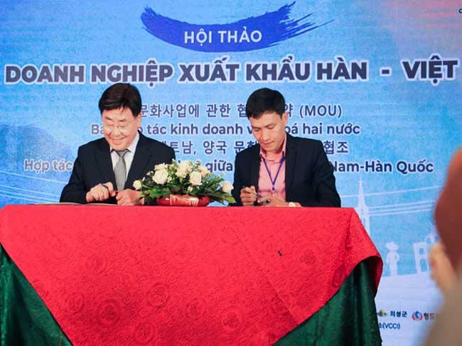 Hội thảo doanh nghiệp xuất khẩu Hàn – Việt 2019