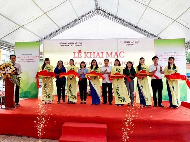Chợ phiên Nông sản an toàn thành phố Hồ Chí Minh năm 2020 hoạt động trở lại sau mùa dịch Covid-19