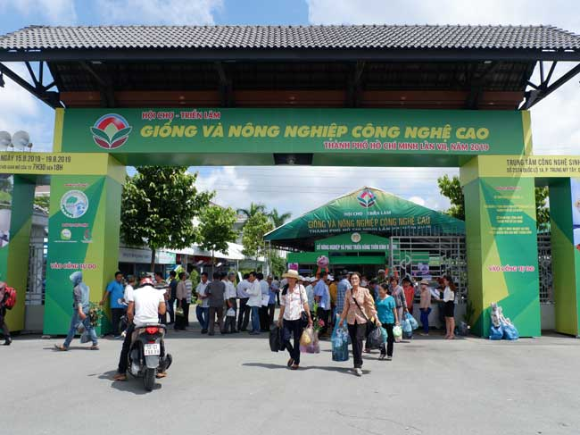 Hội chợ -Triển lãm Giống, Nông nghiệp Công nghệ cao lần VIII và Hội chợ Chăn nuôi Thành phố Hồ Chí Minh năm 2020